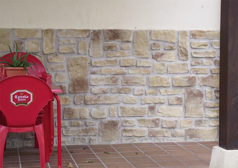 Piedras decorativas construcciones y reformas viedma - Pinturas esquiroz ...
